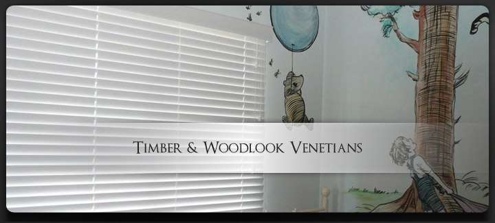 Timber and Woodlook Venetians Brisbane